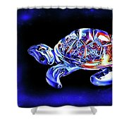 Magic Turtle Shower Curtain