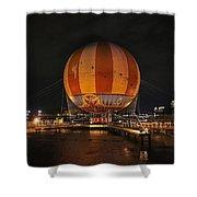 Magical Balloon Ride Shower Curtain