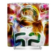 Magical Clay Matthews Shower Curtain