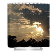 Magical Clouds Shower Curtain