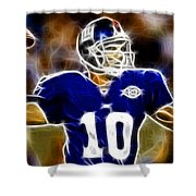 Magical Eli Manning Shower Curtain