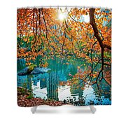 Magical Fall Shower Curtain