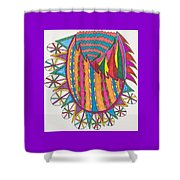 Magical Forest Land Shower Curtain