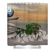 Magical Island Shower Curtain