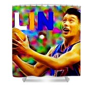 Magical Jeremy Lin Shower Curtain