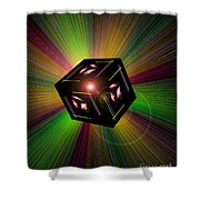 Magical Light And Energy 3 Shower Curtain