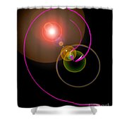 Magical Light And Energy 4 Shower Curtain