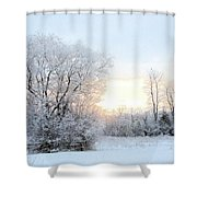 Magical March Morning Shower Curtain