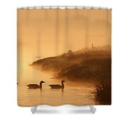 Magical Misty  Morning Shower Curtain