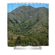 Magical Mountain Tamalpais Shower Curtain