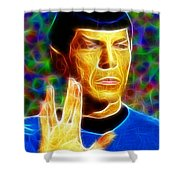 Magical Mr. Spock Shower Curtain