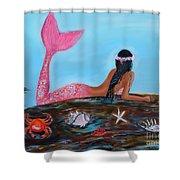 Magical Mystic Mermaid Shower Curtain