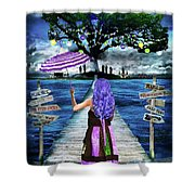 Magical New Orleans Shower Curtain