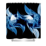 Magical Orchids Shower Curtain