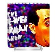 Magical Pee Wee Herman Shower Curtain