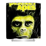 Magical Planet Of The Apes Shower Curtain