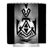 Magical Sign For Curse Removal Astral Practice Shower Curtain