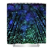 Magical Summer Nights Shower Curtain
