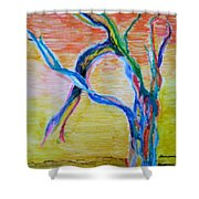 Magical Tree Shower Curtain