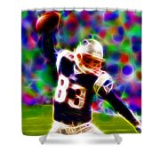 Magical Wes Welker  Shower Curtain