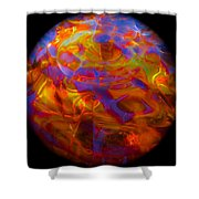 Magiks In Sphere Shower Curtain