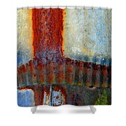 Magma Shower Curtain