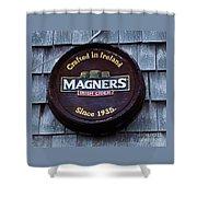 Magners Irish Cider Sign Shower Curtain