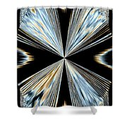 Magnetism 2 Shower Curtain by Will Borden