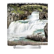 Magnificence Of Shoshone Falls Shower Curtain