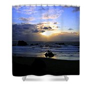 Magnificent Bandon Sunset Shower Curtain