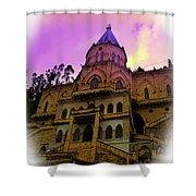 Magnificent Church Of Biblian II Shower Curtain
