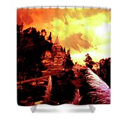 Magnificent Church Of Biblian IIi Shower Curtain