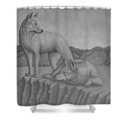 Magnificent Dingo Shower Curtain