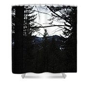 Magnificent  Horizons Shower Curtain