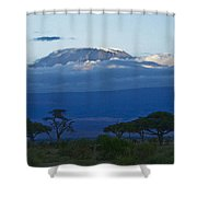 Magnificent Kilimanjaro Shower Curtain