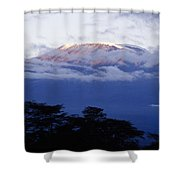 Magnificent Mount Kilimanjaro Shower Curtain