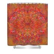 Magnificent Splatters Shower Curtain