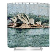 Magnificent Sydney Opera House Shower Curtain