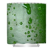 Magnifying Drops Shower Curtain