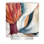 Magnolia Close-up I Shower Curtain