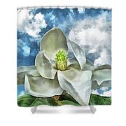 Magnolia Dreams Shower Curtain