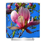 Magnolia Flower Shower Curtain