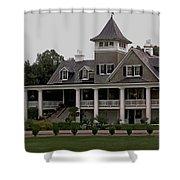 Magnolia Plantation Home Shower Curtain