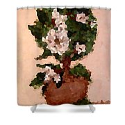 Magnolia Topiary IIi  Shower Curtain