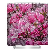 Magnolias 1 Shower Curtain