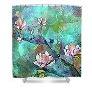 Magnolias Shower Curtain