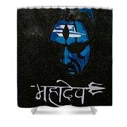 Mahadev Shower Curtain