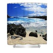 Mahaulepu Koloa Beach Shower Curtain