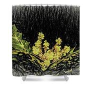 Mahonia Blossom Shower Curtain