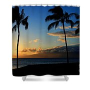 Mai Ka Aina Mai Ke Kai Kaanapali Maui Hawaii Shower Curtain